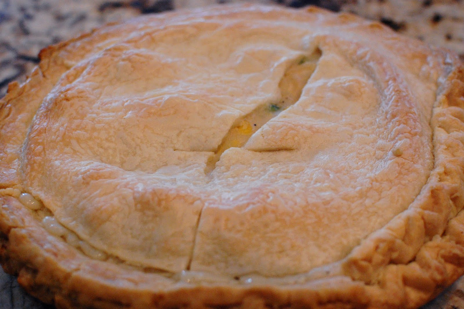 ve noticed that the top pie crust is easier to remove from the ...