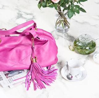 Lena Erziak is Pretty in Pink