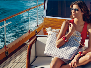 LV's Damier Azur Available in 2010!