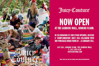 Juicy Couture Opens Today at The Gardens Mall!