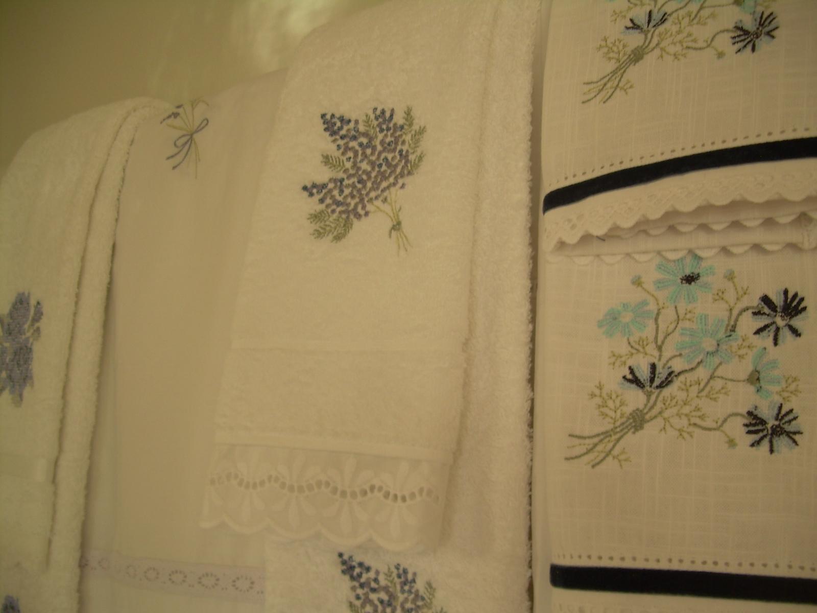 Cortinas De Baño Bordadas:cortina de baño bordada 20 bordados deshilado $ 32 000 cortina de