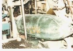 Bomba argentina sin explotar