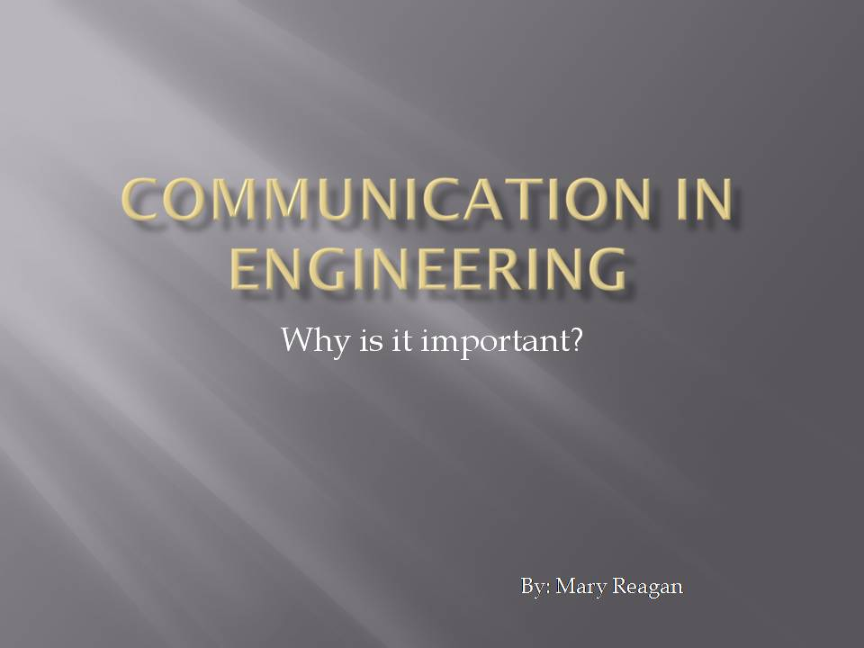why communication is important in a Why is six sigma so effective on the surface, it may seem that the effectiveness of six sigma is due to its reliance on scientific tools and techniques, but that is certainly not true – because in reality, six sigma is more about following time-tested business practices rather than just crunching statistical data.