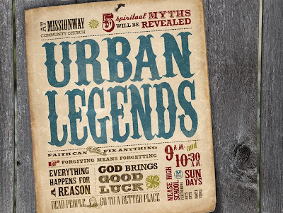 городские легенды, кровавая мэри, газета, урбан