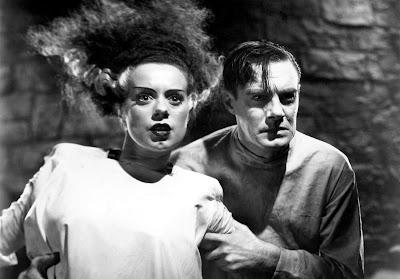 старые фильмы ужасов, черно-белые фильмы ужасов, невеста франкенштейна