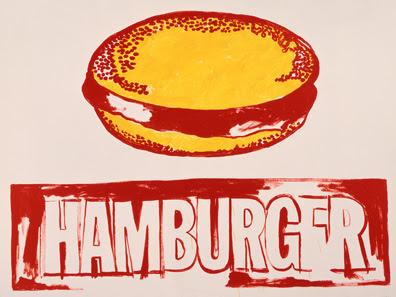 гамбургер, поп-арт, энди уорхол