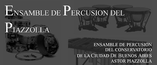 Ensamble de Percusin del Piazzolla