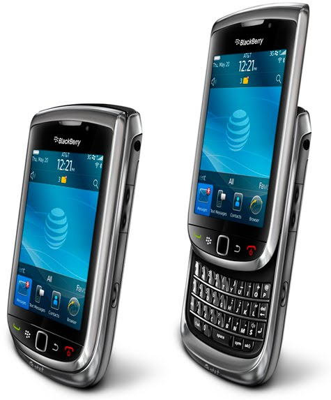 Blackberry Torch 9800 Smartphone. the Blackberry smartphone,