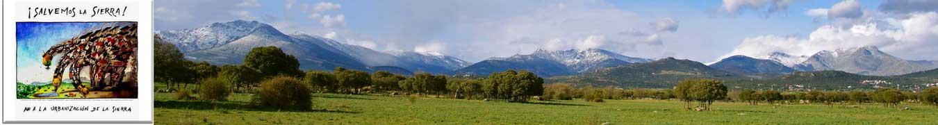 Coordinadora Salvemos la Sierra. Sierra de Guadarrama. Madrid