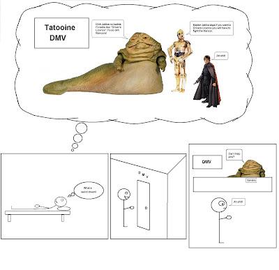 Star Wars DMV