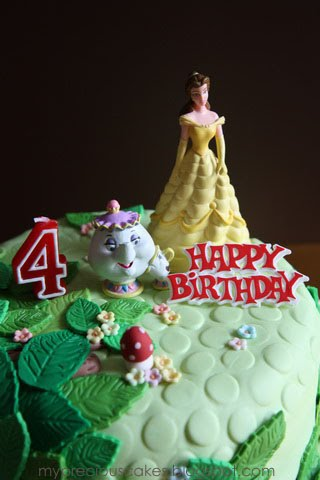 Birthday Cake Images Emily : My Precious Cakes: Princess Belle for Emily Birthday Cakes