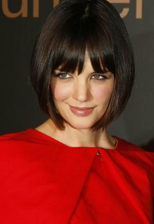 katie holmes hairstyles bob. Katie Holmes New Pixie Haircut