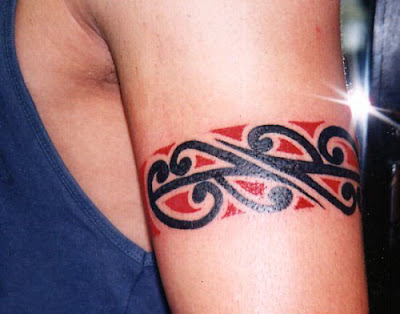 tribal band tattoo. tribal band tattoo. ankle and