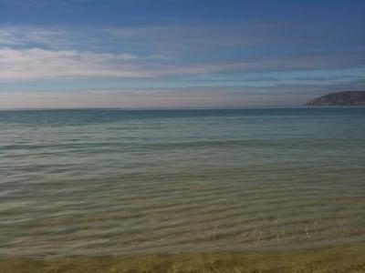 A marea baixa en San Xurxo