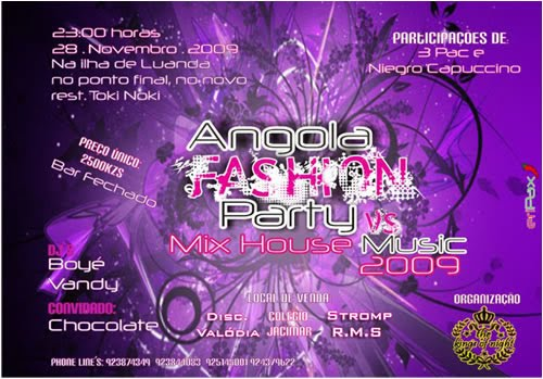 Club xibaria angola fashion party vs mix house music 2009 for House music 2009