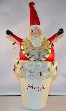 Santa candy holder