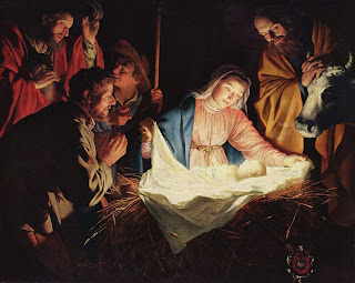 Adoration of the Shepherds, by Gerard van Honthorst