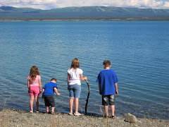 The kids at Big Lake, Canada