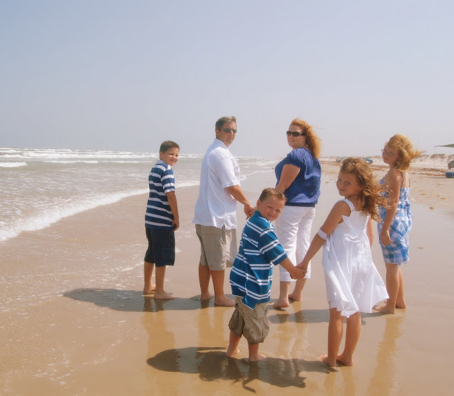 The Pearson Family in Corpus Christi, Texas June 2009