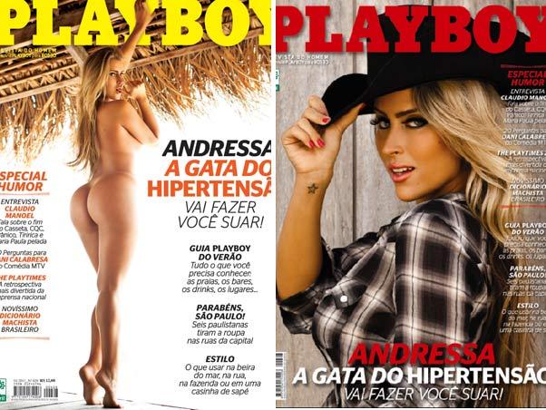 Playboy Janeiro De Andressa Do Hipertens O