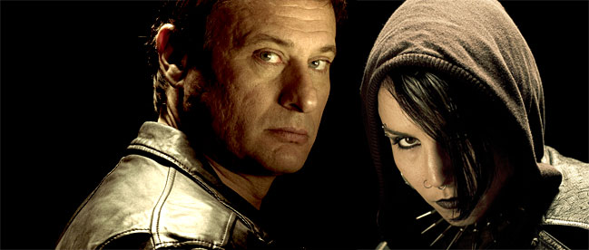 the girl with the dragon tattoo wallpaper. The Girl with the Dragon Tattoo - movie review