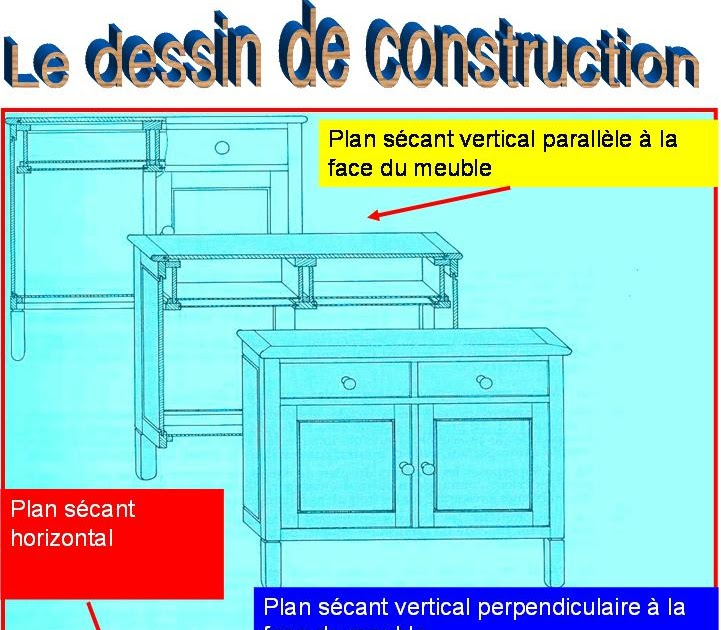 Le boiseu du nivolet le dessin de construction for Dessin de construction du meuble