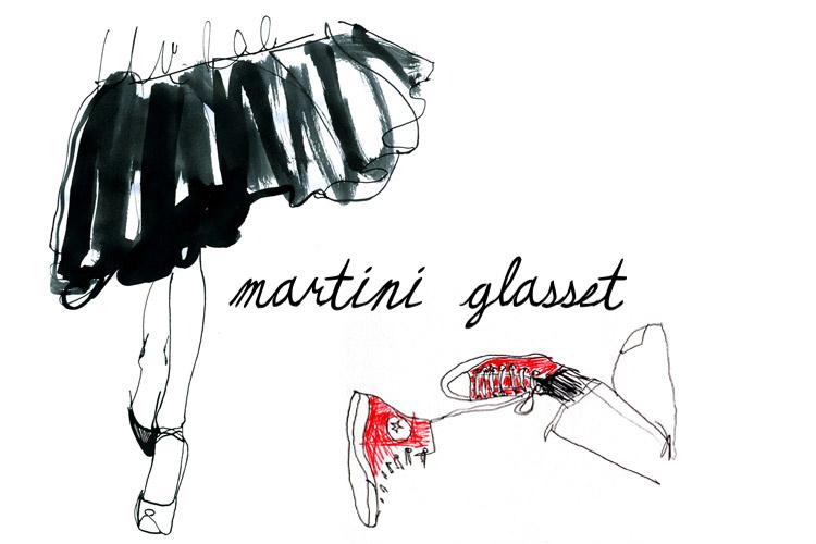 Martini Glasset