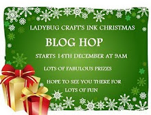 Ladybug Crafts Ink Christmas Bloghop