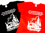 Camisetas com pontos turísticos do Pará