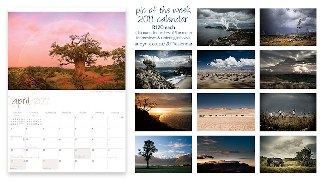 a custom designed, limited edition month-per-view calendar featuring the