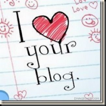 I LOVE Ur BLOG AWARD