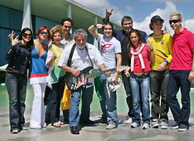 Lula recebe integrantes da banda RBD