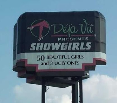 Déjà Vu presents Showgirls, 50 Beautiful Girls and 3 Ugly Ones