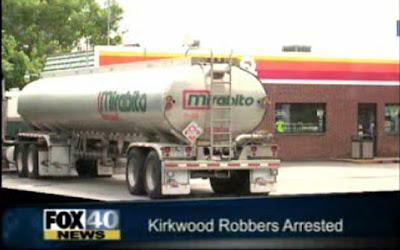 assalto ao posto de gasolina
