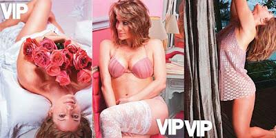 Leticia Spiller nua na revista Vip