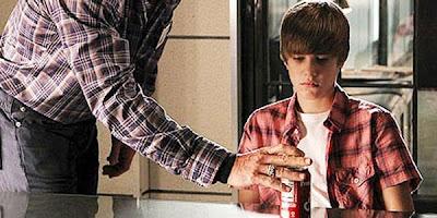 foto de Justin Bieber no CSI