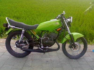 RX King Modifications Green Speed 2012 - Gambar Modifikasi Motor