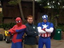 Spiderman, Westin, Captain America