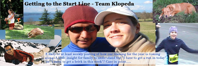 Getting to the Start Line - Team Klopeda