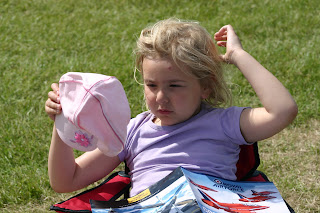 Top Ender taking a rest from watching the air show