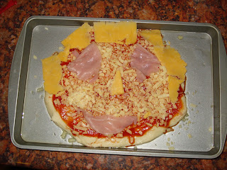 Smiley Face Pizza