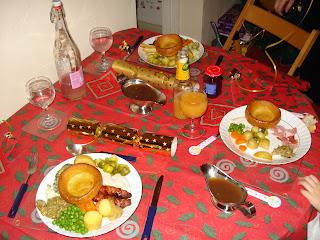 Christmas Dinner Past