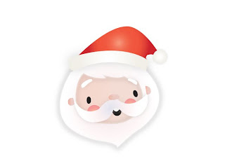 Head Shot of Santa from Send a Message from Santa