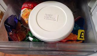 Turkey In The Freezer