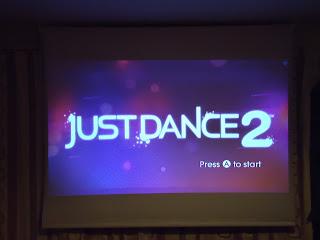 Just Dance 2 Opening Screen Shot