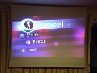 Just Dance 2 Screen Shot of Options