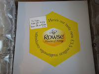 What could be inside this box addressed to me from Rowse Honey?