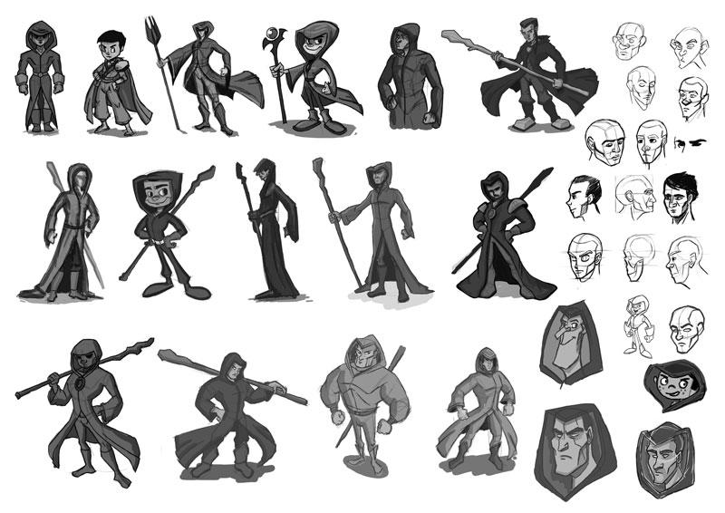 Concept Character Design Tutorials : Concept art character design tutorial
