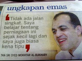 Tan sri syed mokhtar al bukhary