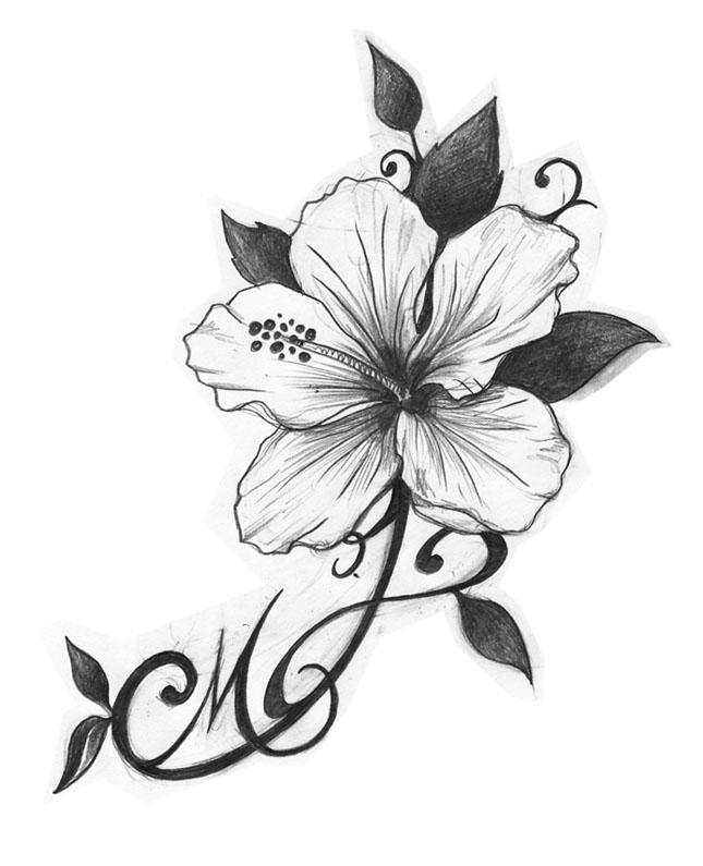 Dessin Tatouage Fleur Exotique Catgorie